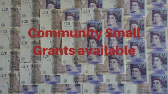 Community small grants fund – OPEN