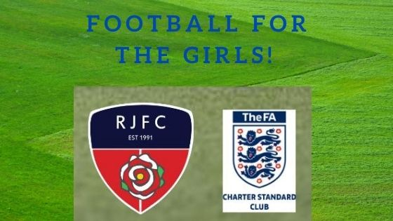 Get your football boots on girls!!